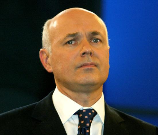 Works and pensions minister Iain Duncan Smith