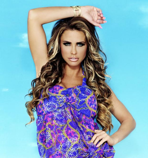 Katie Price gets ready to visit Wirral