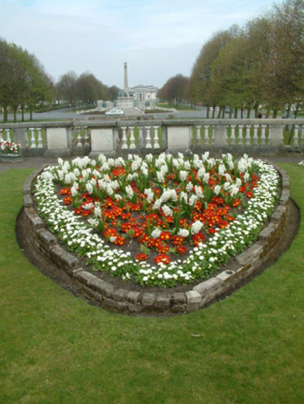 The Hillsborough Memorial Garden in Port Sunlight village