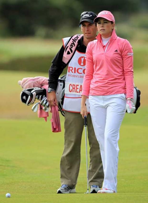 Paula Creamer in action