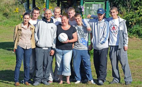Friends of Daniel Chong prepare for football fundraiser