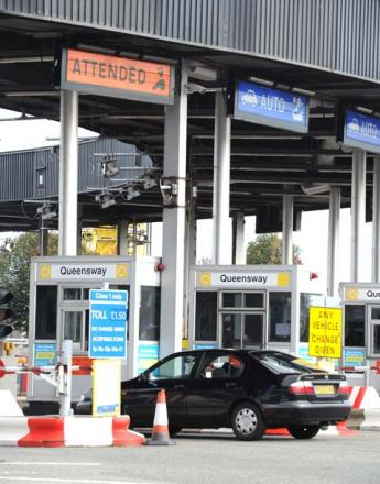 Tunnel tolls could rise by 10p