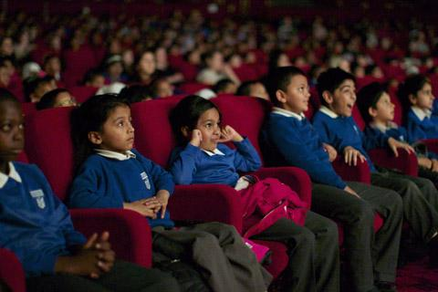 Wirral pupils take learning to the big screen
