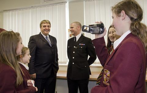Oldershaw pupils been recognised for their work in producing a video warning teenagers about the dangers of misuse of alcohol as part of an awareness campaign by Merseyside Police.
