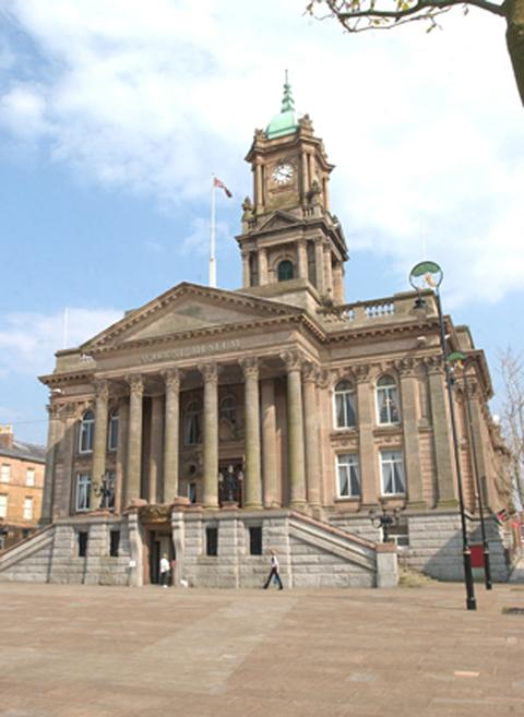 Projects were highlighted during a presentation at Birkenhead Town Hall