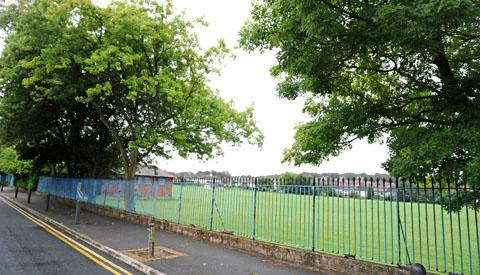 Wirral Globe: Ingleborough Road memorial field