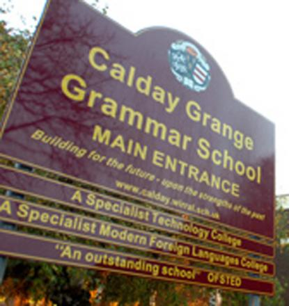 Calday Grammar School hopes for sports hall seal of approval
