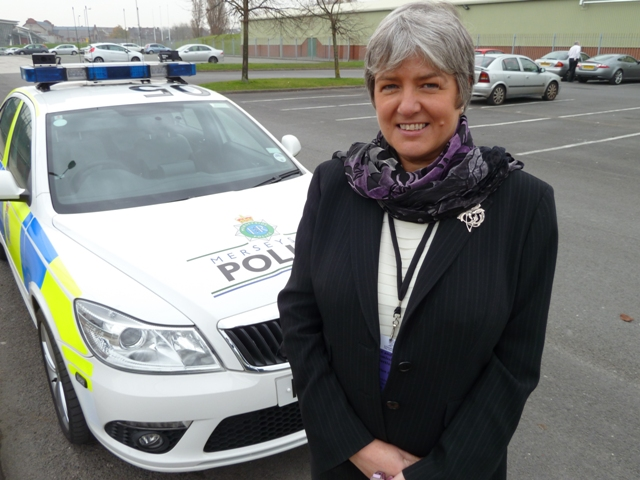 Merseyside crime commissioner Jane Kennedy