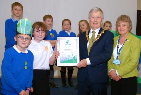 Wirral pupils celebrate Eco School award