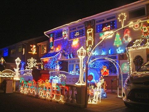 FLASHBACK: The lights in Amberley Close, Moreton