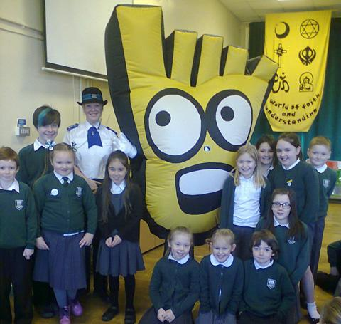 Wirral pupils given special lesson in road safety