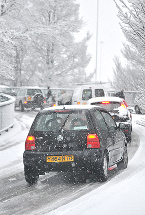 Heavy snow forecast for Wirral on Friday