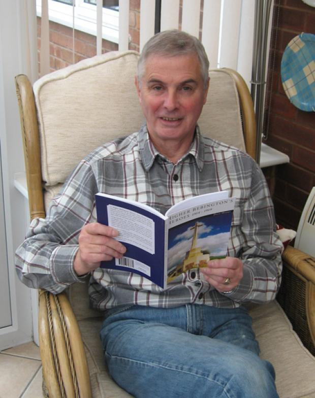 Author's salute to Bebington's heroes of the First World War