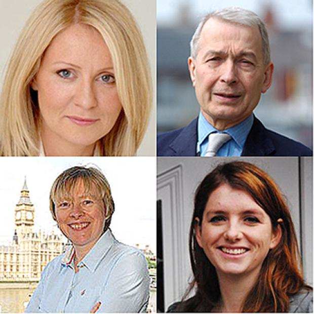 Wirral MPs Esther McVey, Frank Field, Angela Eagle and Alison McGovern