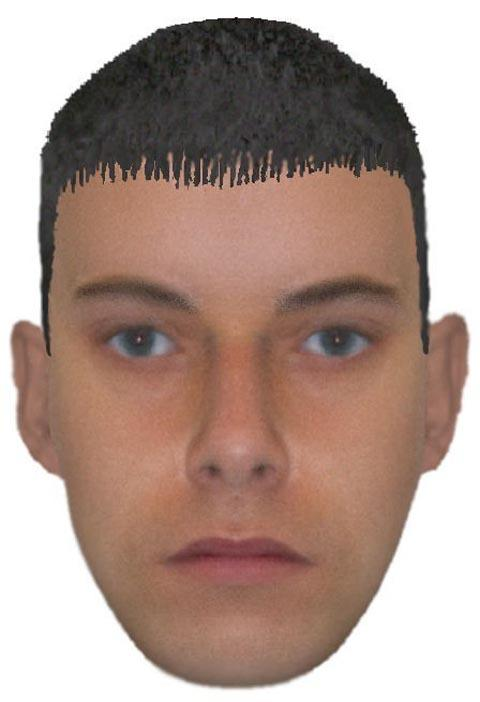 E-fit of one of the men wanted by police