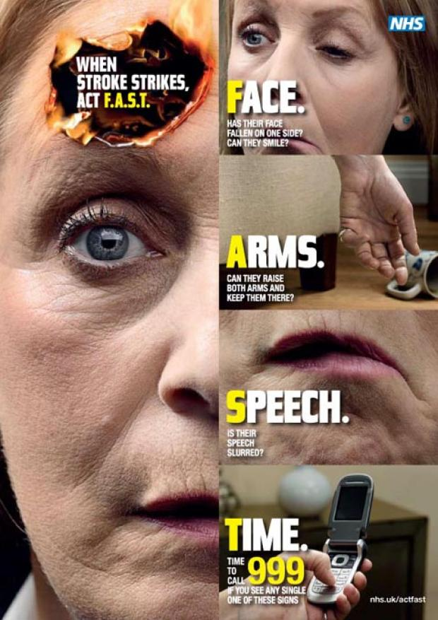 Hard-hitting TV campaign begins today to help stroke victims in North West
