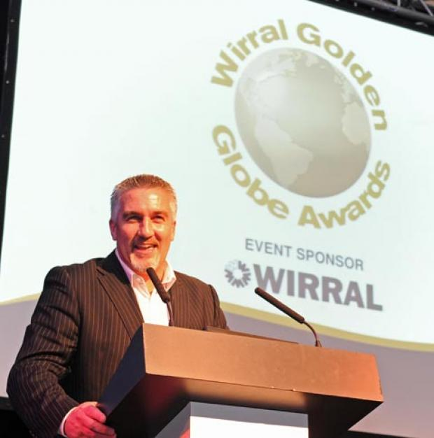 Paul Hollywood at last year's Wirral Golden Globes. Picture: Paul Heaps