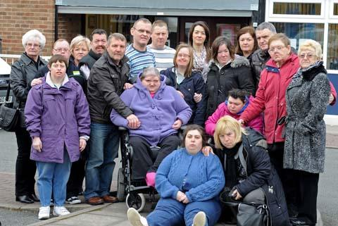Campaigners rally support over Wirral day centre closure