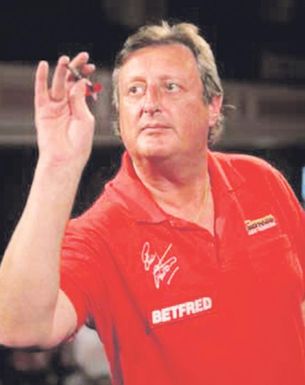 Eric Bristow in action - image courtesy of Tip Top Pics Ltd