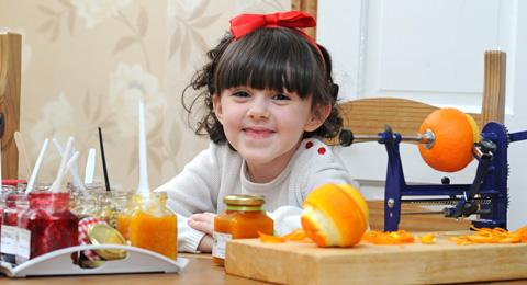 Wirral youngster gets top prize in marmalade-making awards
