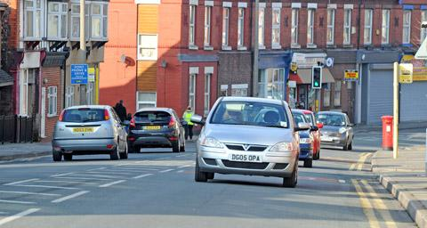 Wallasey road among most congested outside London