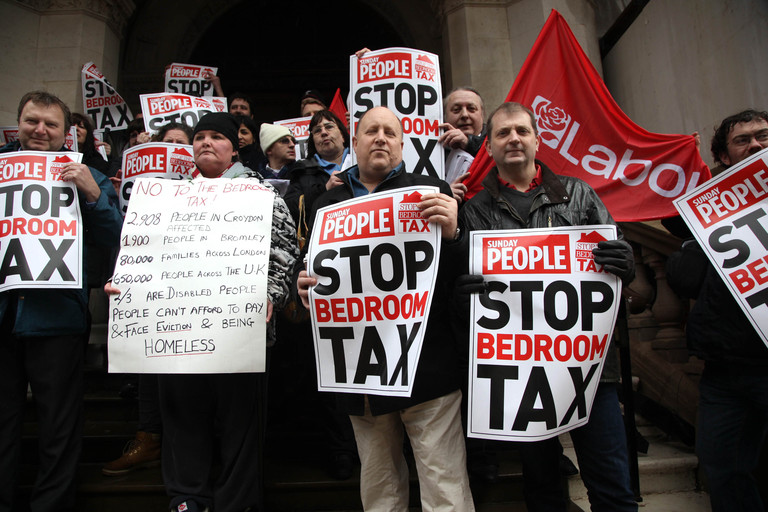 Growing chaos surrounds bedroom tax