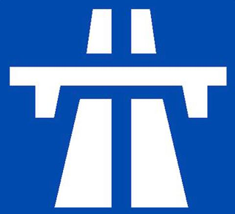 Two in hospital with whiplash after M53 crash