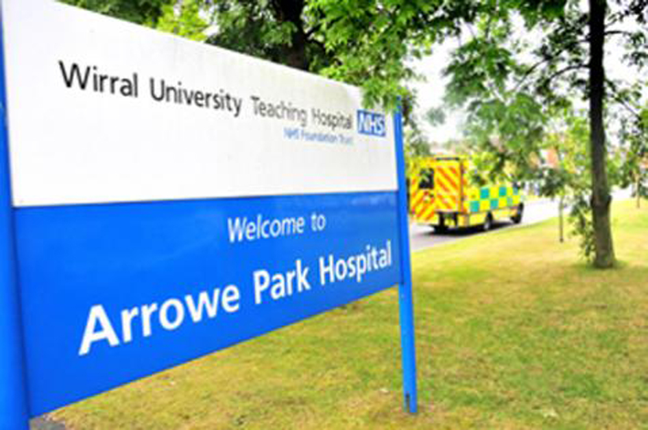 Extra parking for Arrowe park Hospital