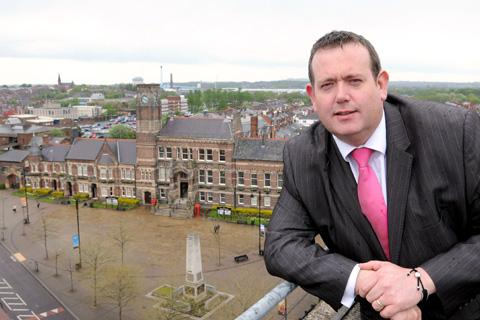 St Helens Council leader Barrie Grunewald represents the town in the Liverpool City Region Combined Authority