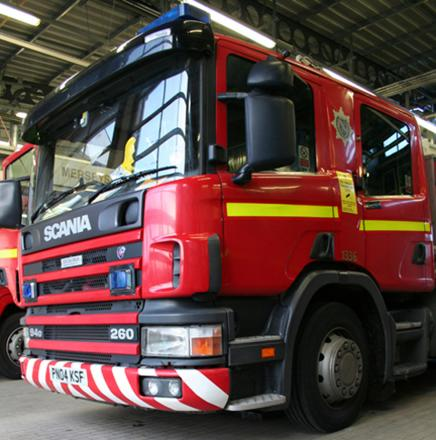Man led to safety following kitchen fire at Wirral house
