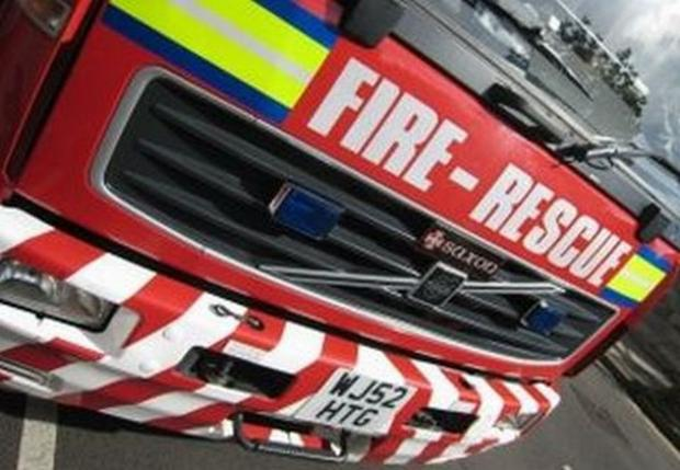 Large Wirral grass fire believed to have been started deliberately