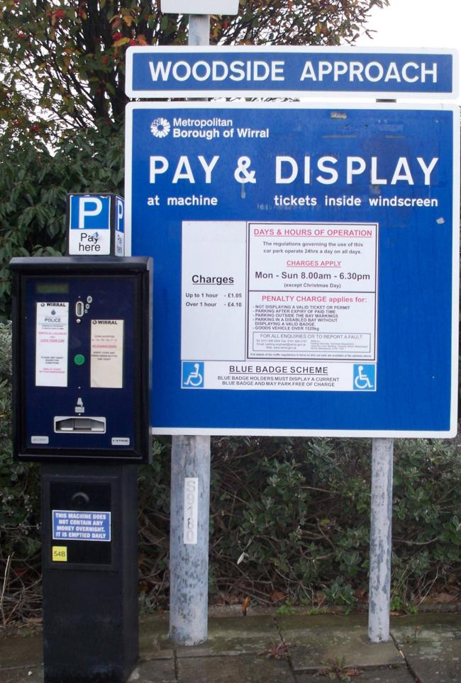 A pay-parking blitz is about to hit Wirral