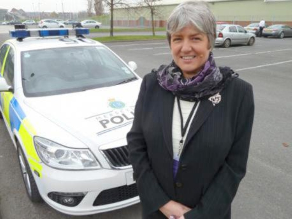 Merseyside's crime commissioner Jane Kennedy