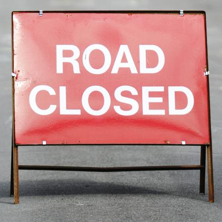 A540 Parkgate Road closed following two-vehicle crash