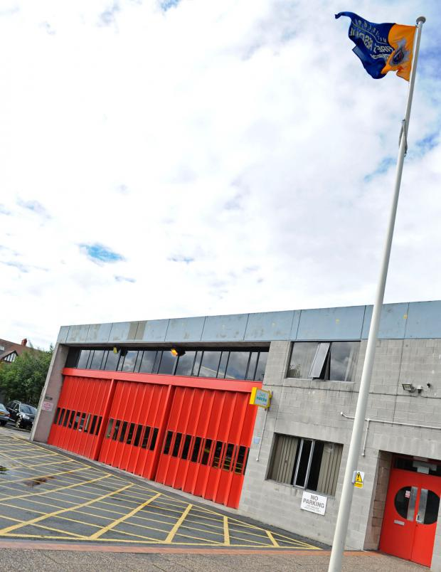 Wirral Globe: West Kirby fire station. Picture: Paul Heaps