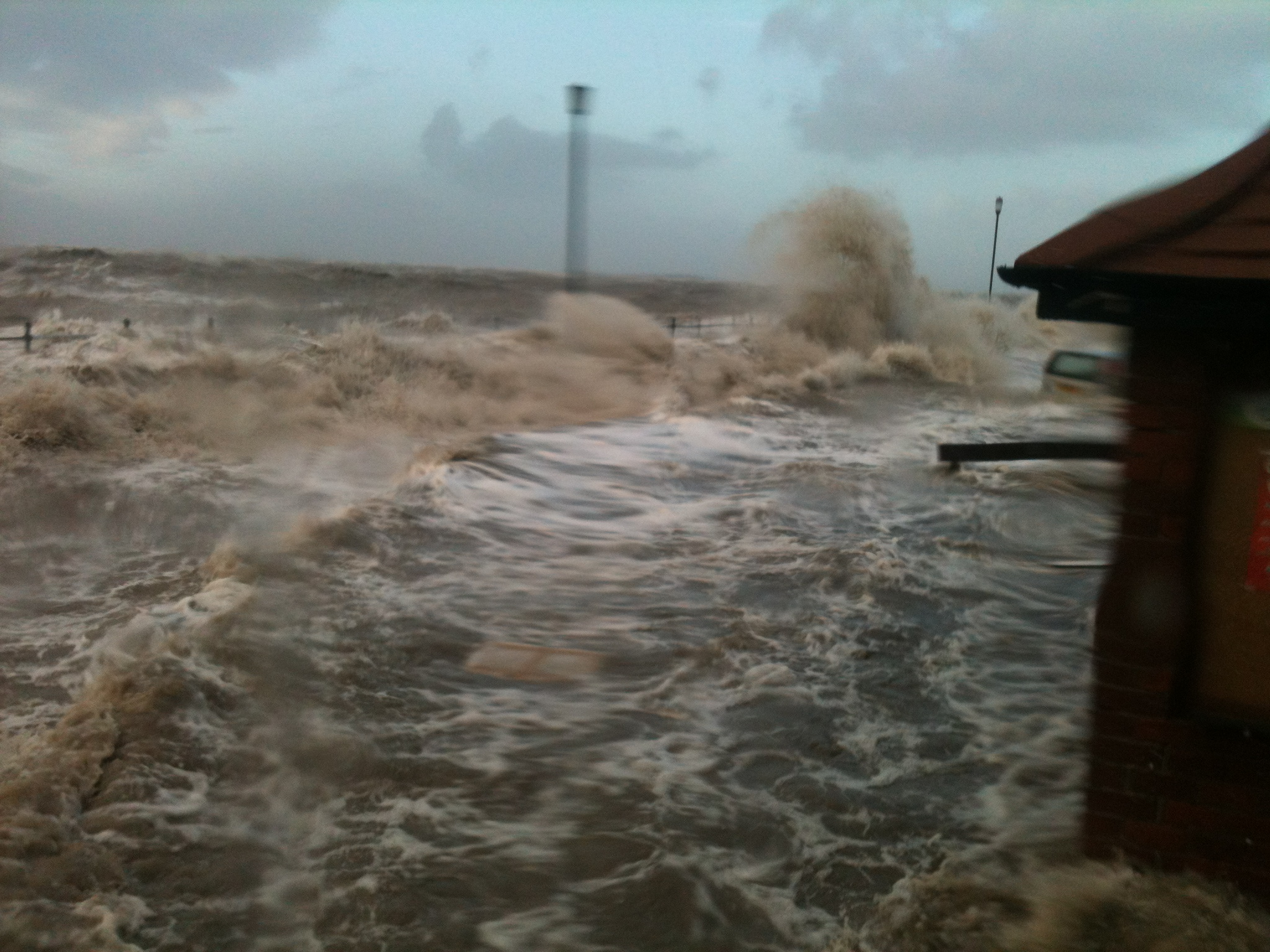 Wirral Globe: A photograph sent in by staff at Tanskeys.