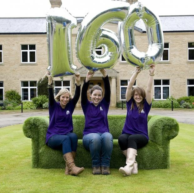 Skipton Building Society members with Big 160