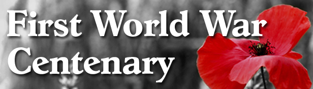 Wirral Globe: WWI centenary banner
