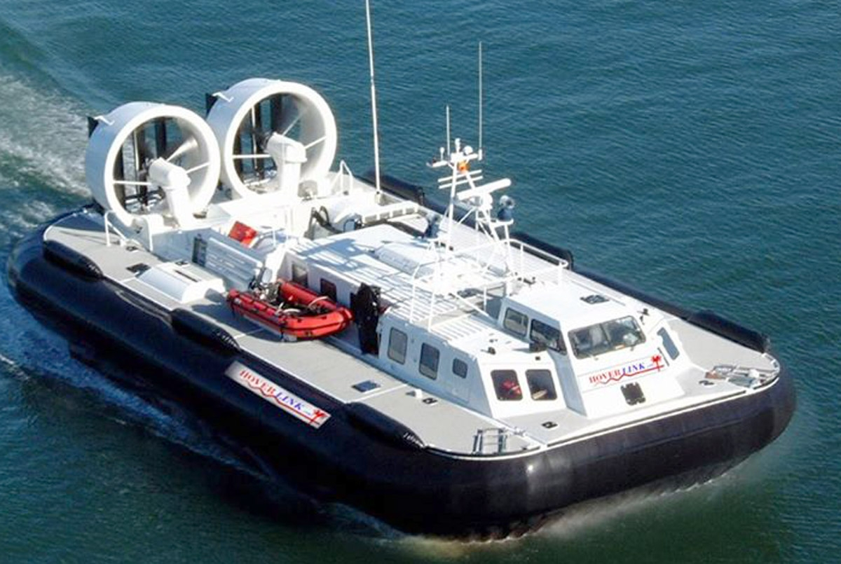 Plan to re-launch Wirral to Wales hovercraft service