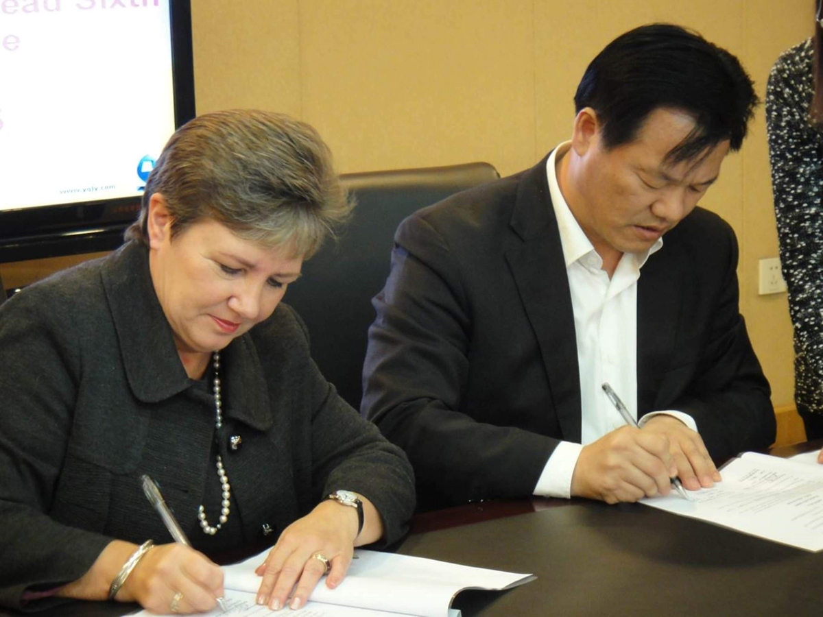 Wirral's sixth form college forges partnership with Chinese university