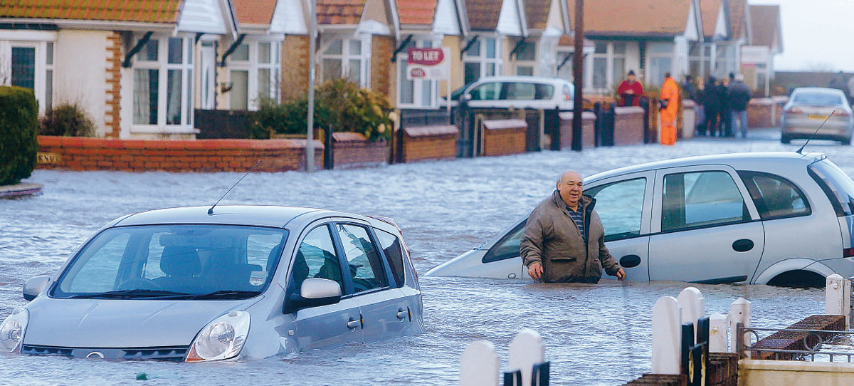 Nationally, more than 6,500 homes have been affected by the winter floods and storms.