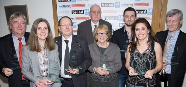 Winners of this year's business awards