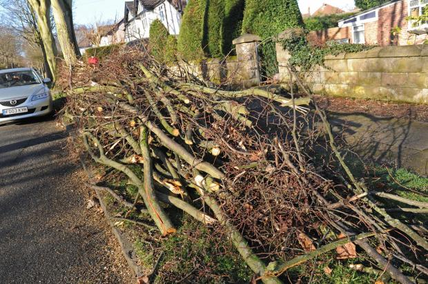 Cheshire West and Chester Council continue storm clean up