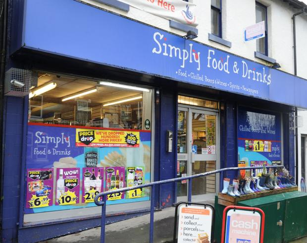 One of the armed robberies took place at Simply Food and Drinks in Oxton.
