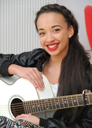 Thirteen-year-old Tabitha Hayles has made it through to the area final of TeenStar.