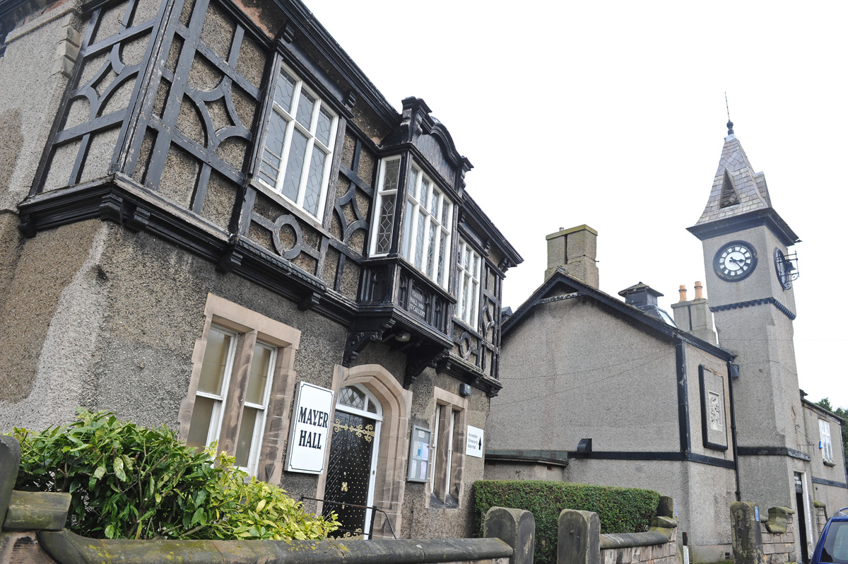 Mayer Hall in Lower Bebington - Wirral's latest heritage conservation area