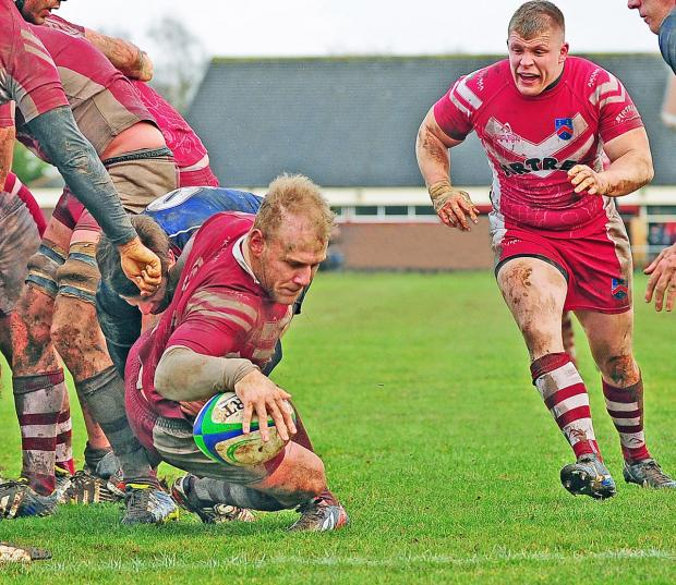 Wirral Globe: Wirral in action against Wilmslow