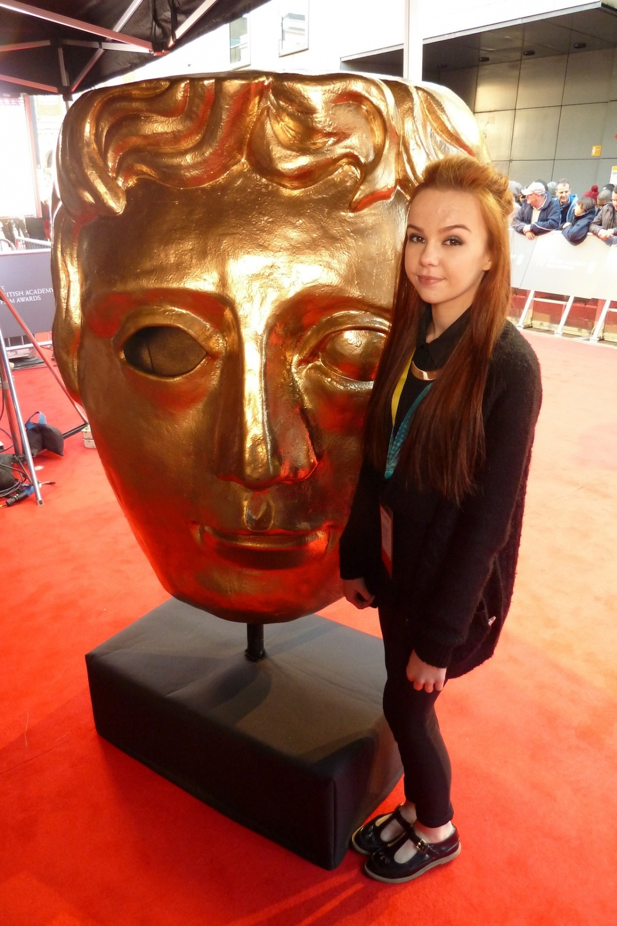 Lights, camera, action for Wirral teenager