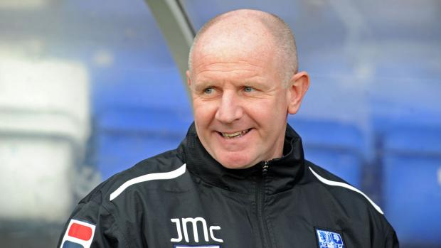 Wirral Globe: Rovers assistant manager John McMahon. Picture: Paul Heaps