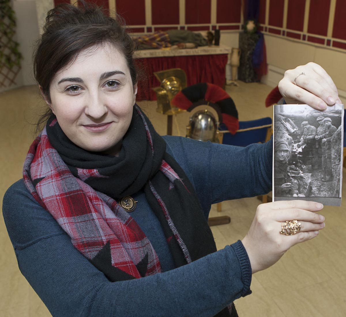 Dayna Dawson needs your First World War for Pyramids Shopping Centre display.